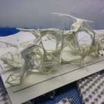 3Dtisk architektura Plexisklo